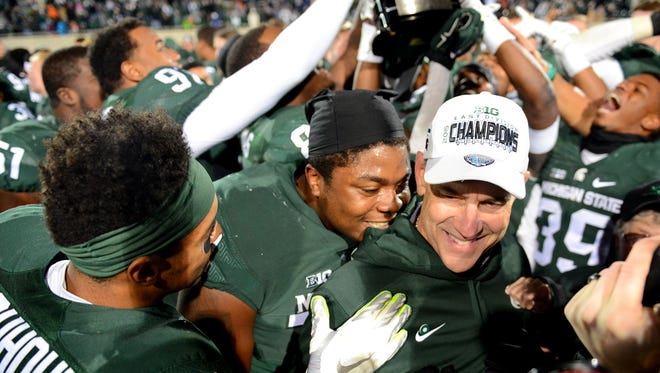 Mark Dantonio has led MSU's football program to three Big Ten championships, Rose Bowl and Cotton Bowl victories and an 87-33 record. He begins his 10th season with the Spartans on Sept. 2 against Furman in East Lansing.