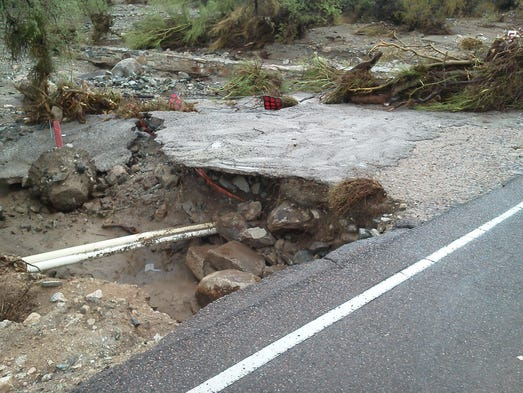 South Mountain storm damage
