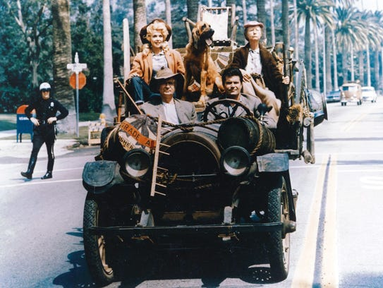 The rich Clampetts of 'The Beverly Hillbillies' would