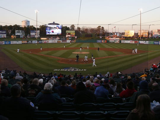 """FirstEnergy Park in Lakewood is home to the Lakewood BlueClaws, the Class """"A"""" affiliate of the Philadelphia Phillies."""