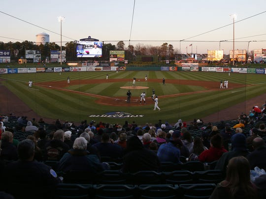 "FirstEnergy Park in Lakewood is home to the Lakewood BlueClaws, the Class ""A"" affiliate of the Philadelphia Phillies."