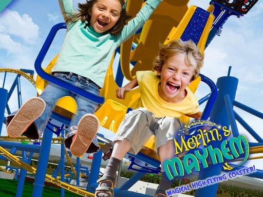 Merlin's Mayhem opened at Knobel's in summer 2017.