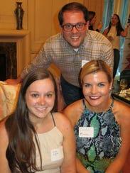 Sarah Giglio, Paul Guidry, Carolyn Murphy at Ambassadors