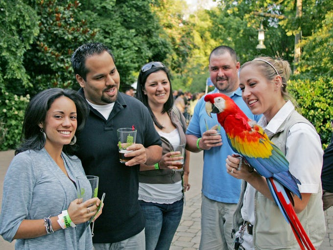 JUNE 1 BREW AT THE ZOO: 6:30 p.m. Nashville Zoo, $25-$125,