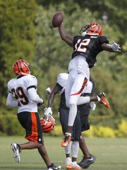 Cincinnati Bengals wide receiver Mohamed Sanu (12)