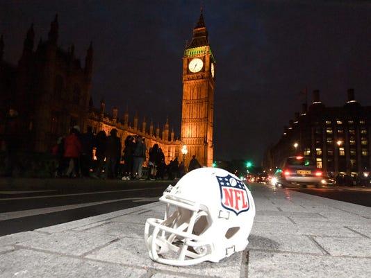 USP NFL: INTERNATIONAL SERIES-FAN RALLY AT NFL HOU S FBN GBR EN