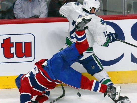 2-6-2014 vanucks canadiens