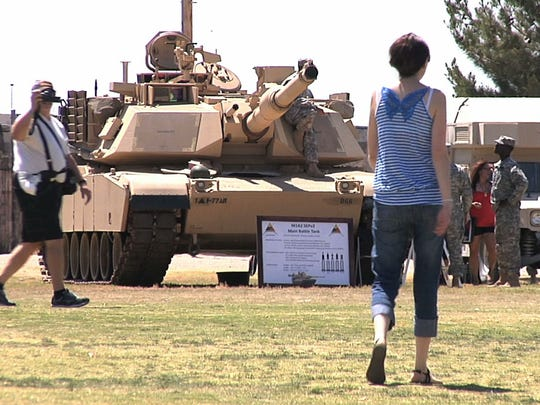 Fort Bliss and the 1st Armored Division will have their Armed Forces Day open house and celebration at Biggs Park on May 21.
