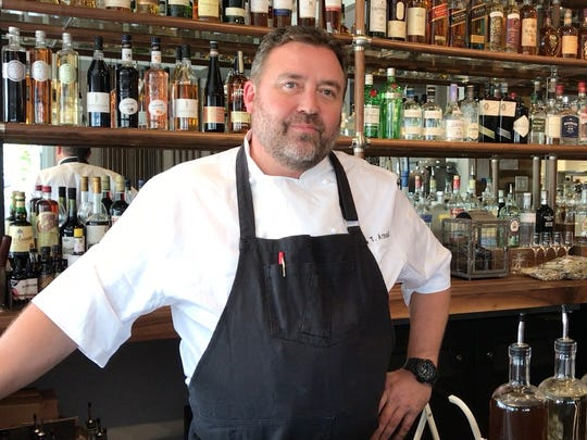 Matt Arnold is the chef and co-owner of Point 57 in