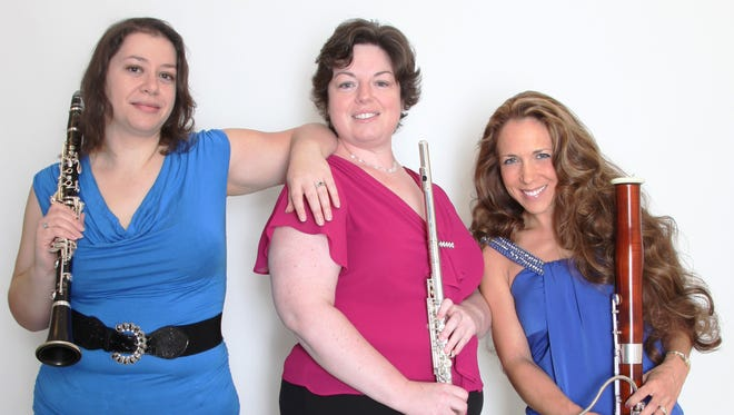 The Fortunata Trio will perform Friday at York College.
