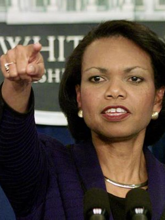 AP file photo of Rice