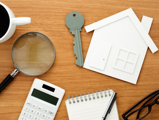 Home planning. Calculating and checking.