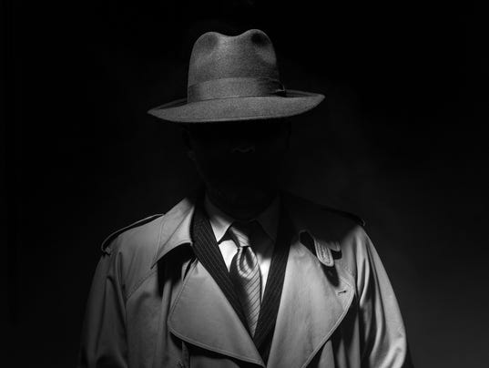 Noir movie character