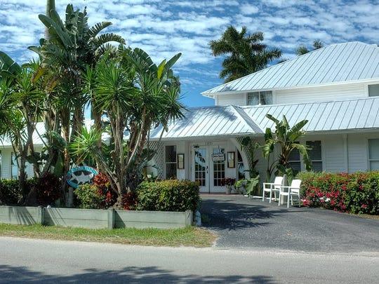 Nationally acclaimed, fine-dining Tarpon Lodge restaurant is the jewel of Pine Island.