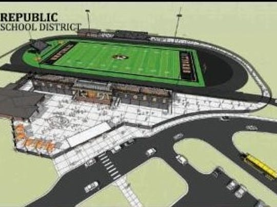 An overview of the proposed athletic facilities at