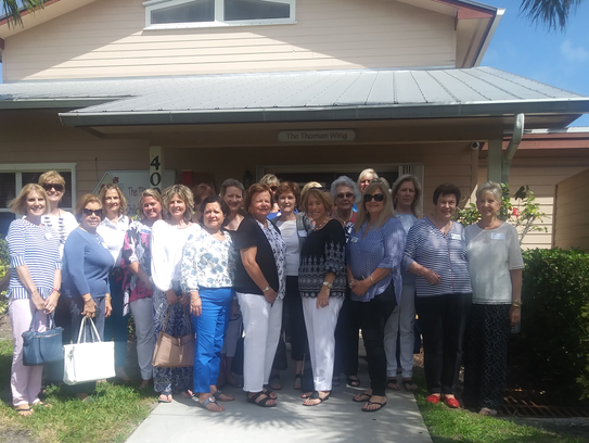 Indian River County Guild members enjoyed their journey