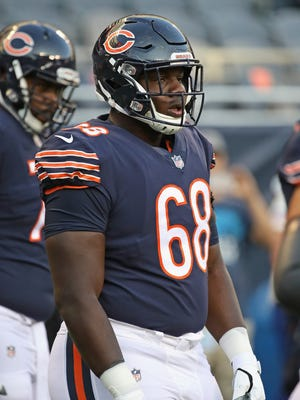 James Daniels is a young, valuable piece Chicago sees as big impact in the foreseeable future, even though he probably won't start Week 1.