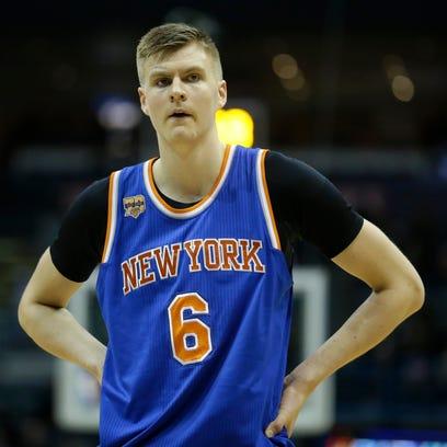 Knicks' Kristaps Porzingis