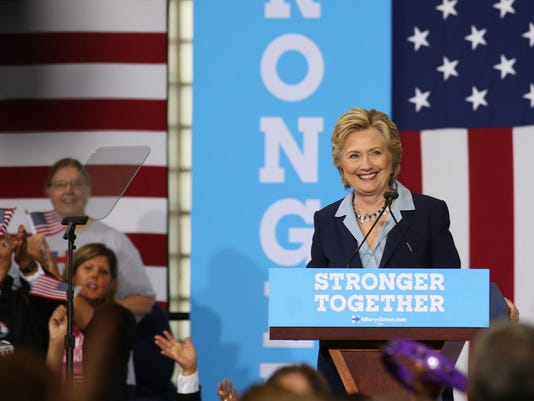 OH: Hillary Clinton campaigns in Toledo