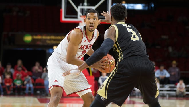 Rod Mills Jr. scored 16 points in a home 67-62 loss to Western Michigan University Jan. 6, 2018.