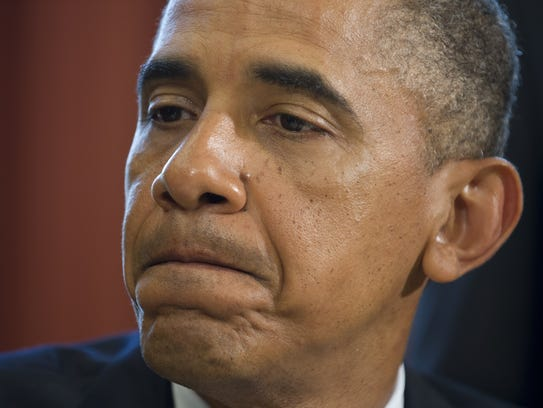 President Obama speaks about the shootings in Wisconsin