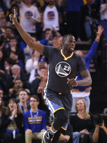 Draymond Green and the Warriors are now 23-0 at home.