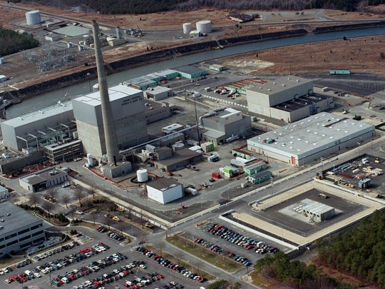 The Oyster Creek nuclear generating station in Lacey is scheduled to permanently close in October.