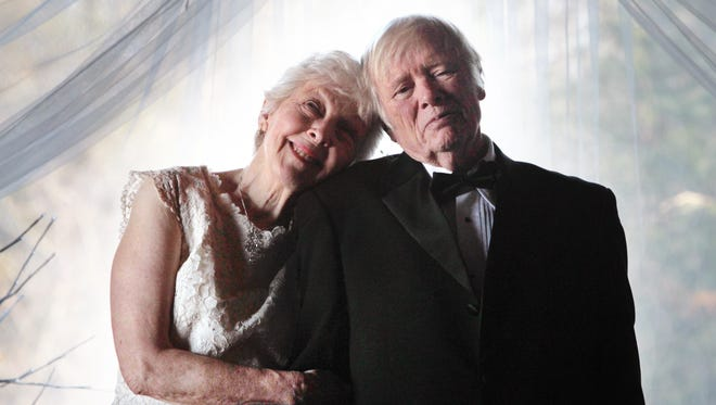 Former Indiana First Judy O'Bannon, 78, and Donald R. Willsey, 84, were wed in the log barn on the O'Bannon family farm in rural Corydon in Harrison County on Friday, Nov. 29, 2013.