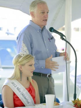 Walhalla Mayor Danny Edwards