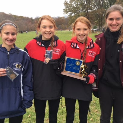 North Jersey Top-20 finishers (left to right): Indian