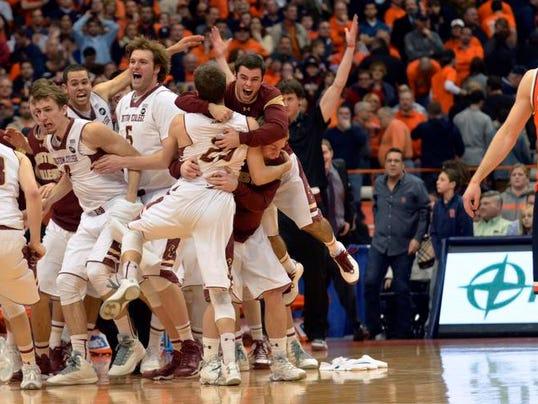 APTOPIX Boston College Syracuse Basketball