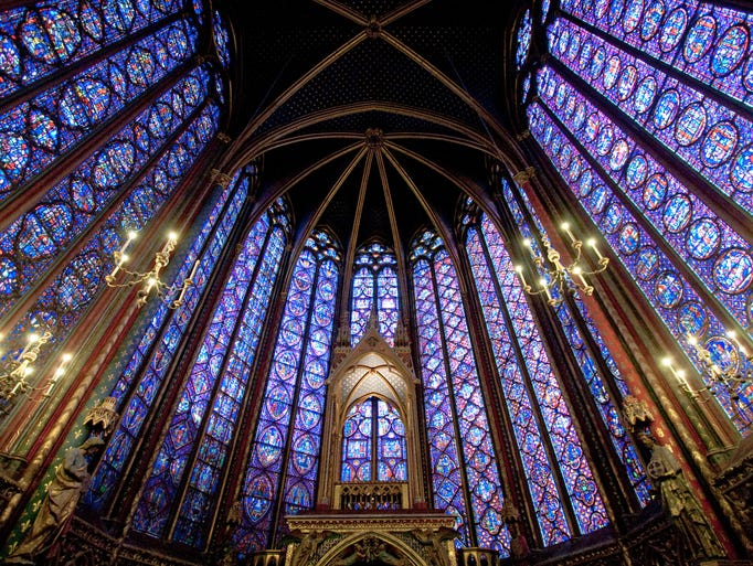 Lovers of stained glass will have to pick