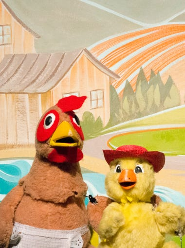 Who will help the Little Red Hen with all the work it takes for her to turn wheat into bread? Kids can sing along to this show.