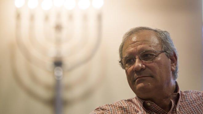 Rabbi Jack Romberg of the Temple of Israel.