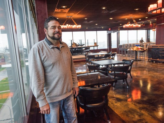 Owner Dave Rix Monday, May 1, at his restaurant Rix's Roof Top in Port Huron.
