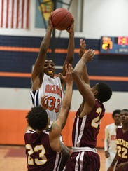 PLAY OF THE WEEK: Delmar's Kavon Trader gets over Milford