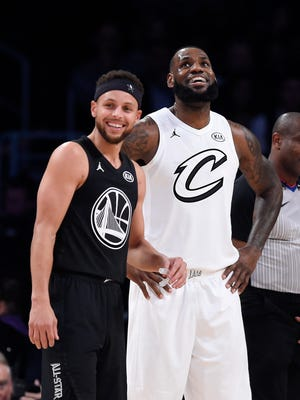 It wasn't that long ago that Stephen Curry and LeBron James were competing for NBA championships and regular-season MVP awards. They could be the two frontrunners for the MVP award again this season.