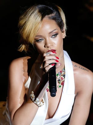 Rihanna will perform on April 4 at White River State Park.