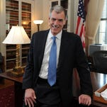 Solicitor General Donald Verrilli is stepping down at the end of the Supreme Court's current term after a five-year run of historic cases, including same-sex marriage and Obamacare.