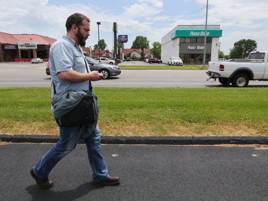 Watchdog reporter Amos Bridges learned that riding the bus involves a lot of walking, as well as ample time for checking email.