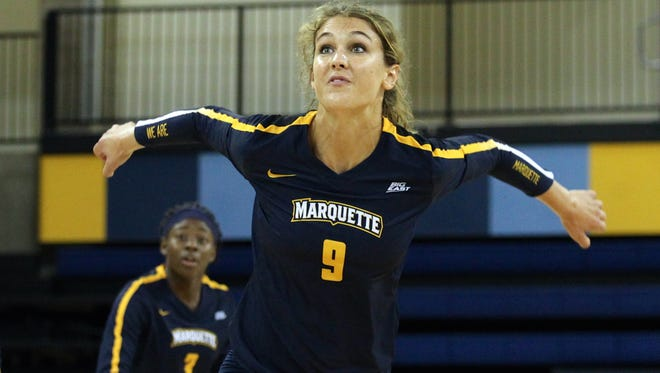 Former Fond du Lac standout Jenna Rosenthal has been a two-year starter at Marquette University and played every set in the last two years.