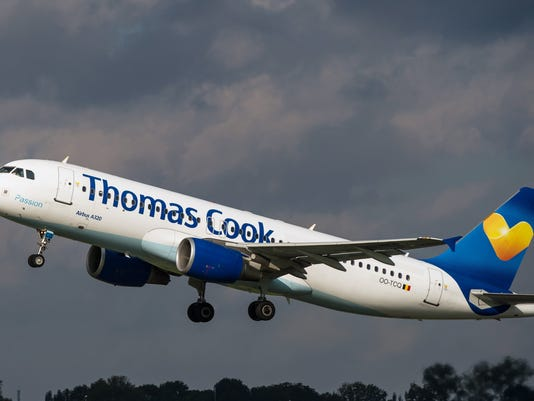 FRANCE-TRANSPORT-PLANE-THOMAS COOK