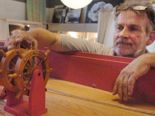 boat wheel