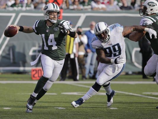 New York Jets' Ryan Fitzpatrick