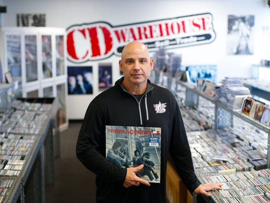 Michael Vincent, the store manager of CD Warehouse,