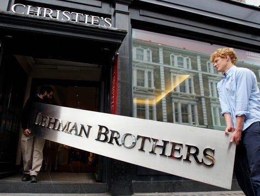 AP Britain Lehman Brothers Auction