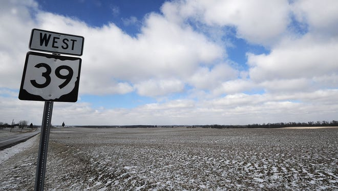 The Black Fork Wind Farm would be located near the village of Tiro, in Crawford County.