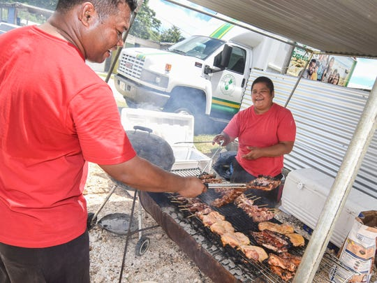 The annual Donne Festival was held in Mangilao on Sept. 13, 2014.