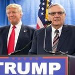 President Donald Trump pardons former Arizona Sheriff Joe Arpaio over federal conviction