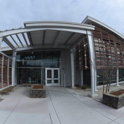 Apple's Reno data center, Jan. 16, 2018.
